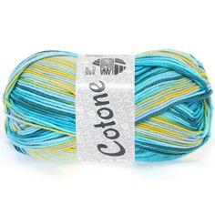 COTONE print 304-mint / turquoise / petrol / yellow / pistachio | EAN: 4033493134507