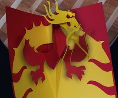 Super cool Cut out Dragon!!!