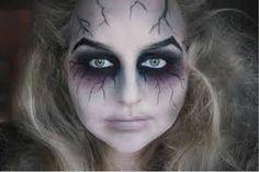 veiny makeup scary