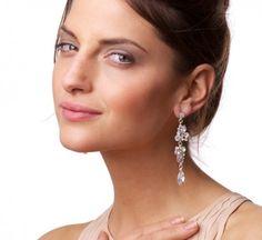 Mixed Leaf Diamante Drop Earrings | Earrings Online | Lovisa