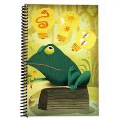 Writing and Art Journal (Frog)