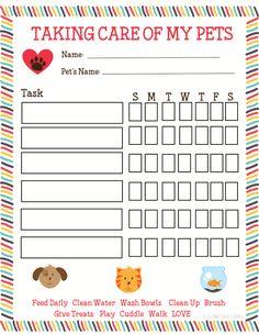 Free Printable Pet Responsibility Chart for Kids American ExpressDinersDiscoverlogo-jcblogo-mastercardPayPalSelzVisa