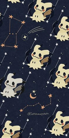 Cute Pokemon Wallpaper, Anime Wallpaper Phone, Cute Patterns Wallpaper, Kawaii Wallpaper, Wallpaper Iphone Cute, Cute Cartoon Wallpapers, Aesthetic Iphone Wallpaper, Animes Wallpapers, Pokemon Painting