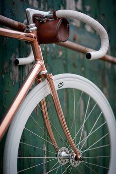 nice........copper frame bike