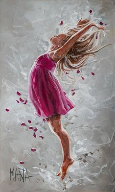 60 New Acrylic Painting Ideas to Try in 2018 - 60 New Acrylic Painting Ideas. Painting Of Girl, Painting People, Prophetic Art, Art Drawings Sketches, Portrait Art, Canvas Art Prints, Amazing Art, Watercolor Paintings, Fine Art