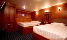 suite on-board the Handy Cruise