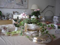La magica semplicità della tavola shabby - Charme en Blanc