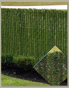 'HedgeLink' Slats in 'Chain Link' Fence ....   on Privacy Link.com   USA.