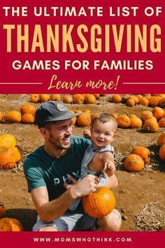 These Thanksgiving games are a great way to connect with your family this holiday season. Check out our full list to find a few for you & your crew!