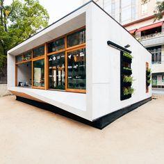 ArchiBlox - First Prefabricated Carbon Positive House, Melbourne, Australia #prefabrication