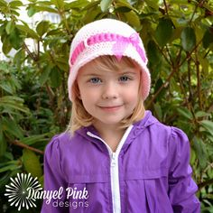 Danyel Pink Designs: CROCHET PATTERN - Alice Hat
