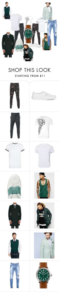 """""""sofy"""" by moustafaissasofy ❤ liked on Polyvore featuring Versus, Vans, Vivienne Westwood Man, Versace, Topman, Alexander McQueen, Valentino, ASOS, Raey and Ascend"""