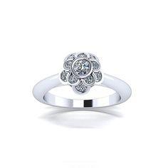 California Custom Design - Flora Ring