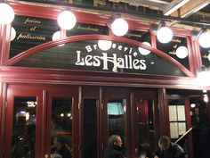Brasserie Les Halles- New York, NY  Anthony Bourdain's restaurant, a typical Parisian brasserie serving fresh and simple dishes of France's everyday cuisine.