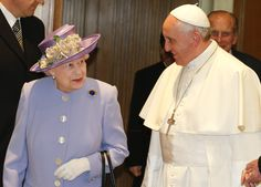 Historic meeting between Argentine Pope and Queen of England. The next day, April 2, Pope Francis received the Queen Elizabeth II at the Vatican. (Reuters)
