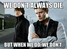 We don't always die