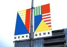 A new identity for the city of Genk.Genk is a Belgian city that counts more than 105 nationalities, due to the city's coal-mining past.To create the image of Genk, I deconsctructed dozens of flags to rebuild a new identity that is diverse, multiple and …