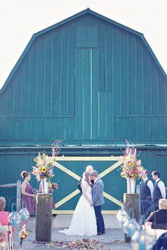 Barn + wedding = beautiful!  I never pin this stuff but I coudnt resist! I love barns!
