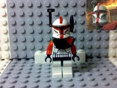 "Lego Star Wars ~Clone Trooper ""Captain Fordo"" Custom on eBay!"