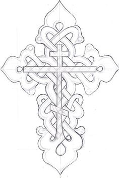 orthodox + celtic = love Celtic Patterns, Cross Patterns, Scroll Saw Patterns, Celtic Designs, Celtic Symbols, Celtic Art, Mayan Symbols, Celtic Dragon, Egyptian Symbols