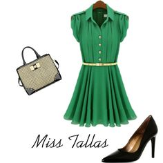 Miss Tallas by alejandroflavia811 on Polyvore featuring moda and Anne Klein