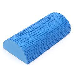 30 cm a Metà Intorno Rullo di Schiuma EVA rullo di schiuma Yoga Pilates Fitness Gym Esercizio Yoga di Forma Fisica Blocchi Con Massaggio Floating punto