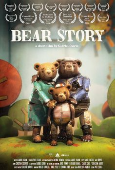 Directed by Gabriel Osorio Vargas. An old, lonesome bear tells the story of his life through a mechanical diorama. Movies 2019, Hd Movies, Movie Tv, Peliculas Audio Latino Online, Best Short Films, Oscar Winning Movies, Movies Playing, Cool Animations, Film Review