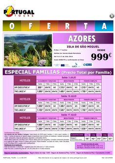 AZORES Especial Familias Isla Sao Miguel 10 y 17jul salida directo Barcelona desde 999 € por familia ultimo minuto - http://zocotours.com/azores-especial-familias-isla-sao-miguel-10-y-17jul-salida-directo-barcelona-desde-999-e-por-familia-ultimo-minuto/