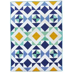 Nordic Triangles Quilt Pattern - includes a half square triangle conversion chart and video tutorial. Easy pattern that looks wonderfully rustic or minimal modern depending on the colors you choose. Modern Quilting Designs, Modern Quilt Patterns, Quilting Patterns, Geometric Designs, Geometric Shapes, Quilting Rulers, Block Patterns, Quilt Designs, Quilting Fabric
