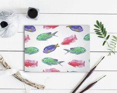 Colorful Fish Animal Greeting Cards