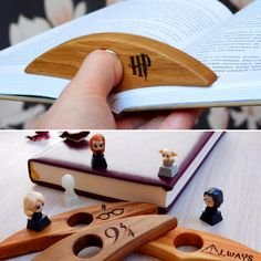 I made wooden page holder for books with symbolic of Harry Potter. Toys liked it! I made wooden page holder for books with symbolic of Harry Potter. Toys liked it! Small Wood Projects, Scrap Wood Projects, Woodworking Projects, Harry Potter Toys, Hobbies And Crafts, Diy And Crafts, Laser Cutter Projects, Book Holders, Wood Toys