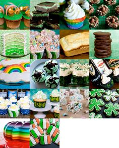 Here's this year's list of St. Patrick's Day-inspired recipes. Enjoy!1. Pot O' Gold Cupcakes2. Three Layer Mint Brownies3. Rainbow Cupcakes4. Mint Chocolate Kiss Cookies5. Green Ombre Cake6. Lucky Charm Cupcakes7. Beer Bread8. Homemade Thin Mints9. Rainbow and Cloud Cookies10.…