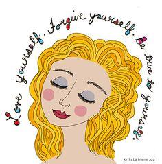 Love Yourself - artwork by Krista Irene Tannahill