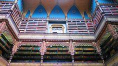 Inaugurada em 1887, a biblioteca reúne obras literárias lusitanas que chegam ao montante de aproximadamente 350 mil livros.