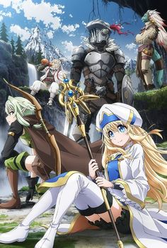 The Goblin Slayer TV anime is directed by Takaharu Ozaki and features animation production by White Fox. It's the Goblin Slayer who comes to their res. Goblin, Manga Anime, Anime Art, Light Novel, Sword Art Online, By Any Means Necessary, High Elf, Anime Lindo, Bd Comics