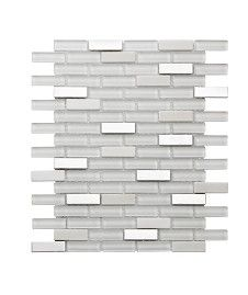 Information about Lynx White Mix Mosaic Tile Kitchen Wall Tiles, Wall And Floor Tiles, Topps Tiles, Border Tiles, Splashback, Mosaic Tiles, Flooring, Lynx, Bathroom