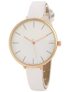 SHARE & Get it FREE | Color Block Quartz Watch - WhiteFor Fashion Lovers only:80,000+ Items • New Arrivals Daily Join Zaful: Get YOUR $50 NOW!