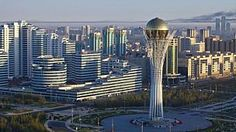 Kazakhstan's 21st-century capital...Astana, the world's youngest capital city, reflects the futuristic vision.