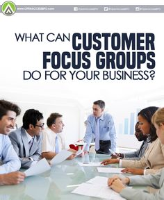 #FocusGroups allow you to personally and directly approach your customers. That way, the insights you gain are honest and accurate.