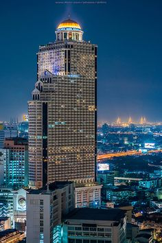 Lebua State Tower - Bangkok, Thailand - awesome hotel to stay at. perfect place to watch the sunrise from your balcony. after a long night of thai buckets Bangkok Hotel, Bangkok Thailand, Thailand Travel, Asia Travel, Samui Thailand, Koh Samui, Laos, Design Hotel, One Night In Bangkok