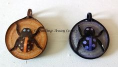 Quilled bugs pendants - by: Quilling Away