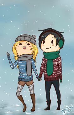 withafinalbreath. the most adorable little percabeth ive ever seen!