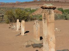 Grafton Cemetery... Most people died from Diphtheria or killed by Indians in this little ghost town...
