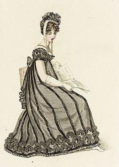 Dames a la Mode Regency Dress, Regency Era, Historical Costume, Historical Clothing, 1800s Clothing, Historical Dress, Jane Austen, Victorian Fashion, Vintage Fashion