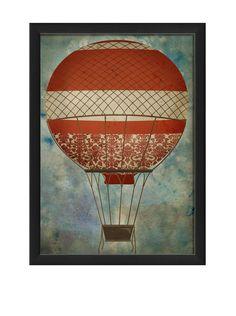 The Artwork Factory Hot Air Balloon 5 Print at MYHABIT