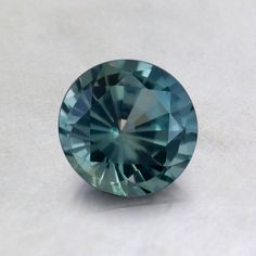 5.5mm Teal Round Sapphire from Brilliant Earth