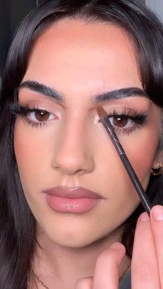 Nose Makeup, Contour Makeup, Skin Makeup, Beauty Makeup, Aveda Makeup, Makeup Cosmetics, Makeup Inspo, Makeup Inspiration, Nose Contouring