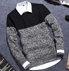 YP1011M 2017 autumn winter Hot selling fashionable causal nice warm pullove christmas sweater men Cheap wholesale brand clothing
