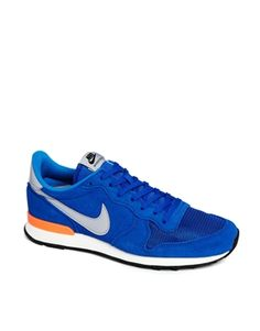 Nike Internationalist Trainers // Awesome Colour Combo // Cobalt Trainers