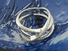Damiani: Bovary Ring, 20012930 (18kt White Gold / Diamonds )